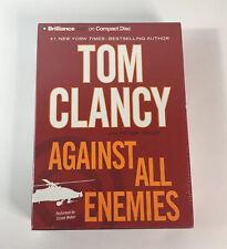 Against All Enemies by Tom Clancy (2011, CD) Audiobook