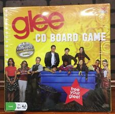 2010 Cardinal SEALED Glee CD Board Game FREE YOUR GLEE! Stock 667