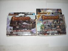 Pathfinder Adventure Card Game 4 deck lot new Rise of the Runelords Add-on & #6