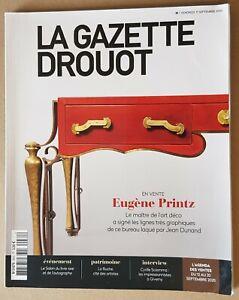 La gazette drouot, 2020, eugène Printz, bon état