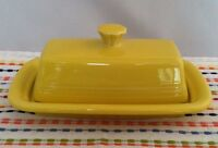 Fiestaware Sunflower Butter Dish Fiesta XL Yellow Extra Large Butter Dish
