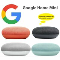 Google Home Mini (1st Generation) Smart Speaker with Google Assistant GA00216-US