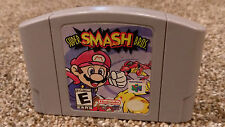 Super Smash Bros. Nintendo 64 N64 Video Game lot CLEAN & TESTED FREE SHIP!!!!