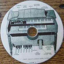 Vintage HAMMOND ORGAN Repair Manuals Guides Music History 92 Books Magazines DVD