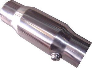 """Catalytic Converter, Stainless Steel, 2.5"""" 100 cell NEW Cat Converter"""