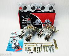 TWIN 40 DCOE SUIT WEBER A14 A15 DATSUN NISSAN OVAL PORT CARB CARBY CARBURETOR