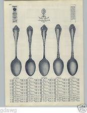 1905 PAPER AD World Brand Silverware Laurence Berlin Nenuphar Oregon Tours