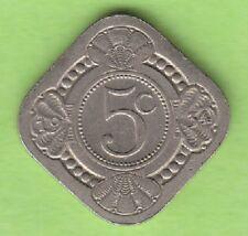 Niederlande 5 Cent 1934 fast vz besserer Jahrgang nswleipzig