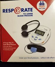 RESPeRATE Blood Pressure Control Lowering Device Complete System BNIB