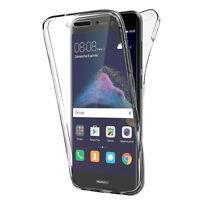 """Coque Silicone Gel ultra 360° Avant et Arrière pour Huawei P8 Lite (2017) 5.2"""""""