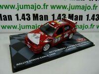 RMIT31F 1/43 IXO Rallye Monte Carlo : MITSUBISHI LANCER EVO VI 1999 Makinen
