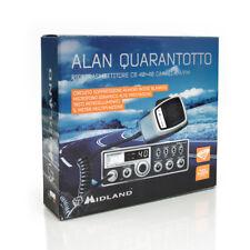 ALAN QUARANTOTTO - CB VEICOLARI AM-FM 40 CANALI ORIGINALE MIDLAND COD.C217.09