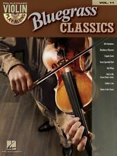 Bluegrass Classics Violin Play-Along Book and CD NEW 000842233