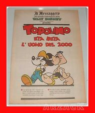 TOPOLINO supplemento IL MESSAGGERO Eta Beta l'uomo del 2000 17/3/1990