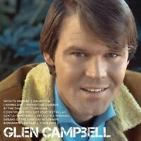 GLEN CAMPBELL - ICON  CD  17 TRACKS  INTERNATIONAL POP  NEW!