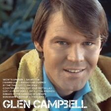 GLEN CAMPBELL - ICON  CD  17 TRACKS  INTERNATIONAL POP  NEW+