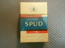 Spud Menthol alte Zigarettenschachtel (313)