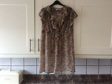 Ladies size 14 summer beach dress/top green mix from new look