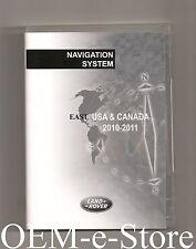 2007 to 2012 Land Rover LR2 SE HSE Navigation DVD EAST Coast Map Version 10-2011