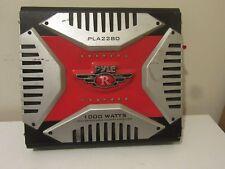 Original Pyle Rouge PLA2280 2 Canaux 1000 Watt Pontable Amplificateur Mosfet
