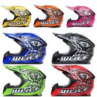 Wulfsport Junior KIDS Cub FLITE  Xtra ATV MX Crash Helmet Lowest Price