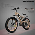 """New 1500W Electric Mountain Bicycle 48V/15Ah 26"""" FatTire Ebike Motocycle"""