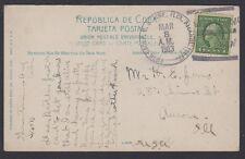 1913 postcard US Naval Sta., Guantanamo Bay, Cuba 5th Group US Torpedo Flotilla