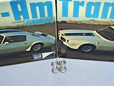 "MPC 1971 PONTIAC FIREBIRD ""TRANS-AM"" KIT #1-0451-225 AMT 1/25 CHROME MAGS ONLY"
