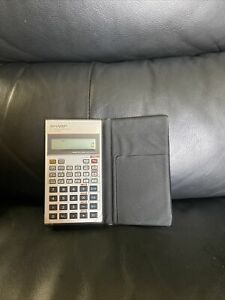 Sharp Scientific Calculator EL-506P With Case - Works Great!
