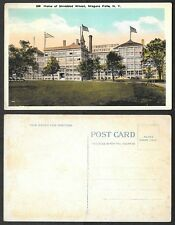 Old Postcard - Niagara Falls, New York - Home of Shredded Wheat