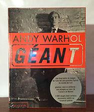 Andy Warhol : Géant - Dave Hickey, Kenneth Goldsmith - Phaidon