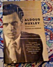 Aldous Huxley : An English Intellectual, Paperback by Murray, Nicholas
