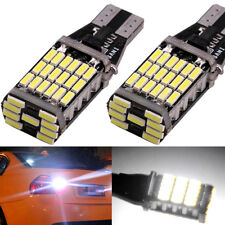 a pair 45SMD 6000k White 921 T10 T15 Backup Reverse LED Lights Error Free Bulbs