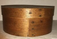 Antique Folk Art Shaker Bentwood Pantry Wood Spice Box