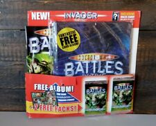 Doctor Who Battles In Time Invader Special  Magazine With Album And 2 boosters