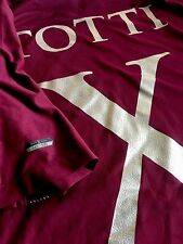 TOTTI X LEGEND shirt  limited edition XL.  XXX/500 pieces AS ROMA tiempo