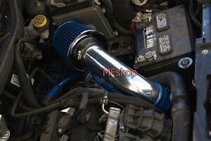 Blue For 2007-2010 Jeep Compass Patriot 2.0L 2.4L L4 Air Intake Kit + Filter