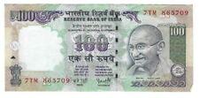 India 100 Rupees Paper Money Bill Note Gandhi