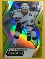 2017-18 UD Synergy Green Parallel #23 Nikita Kucherov Tampa Bay Lightening SP