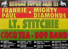 SUPER JAM III - XXXX - Tourplakat - Reggae - Paul - Mighty Diamonds - Tourposter