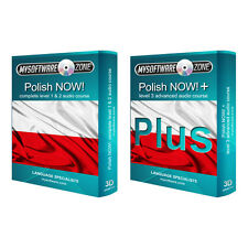 Learn to Speak Polish Language Fluently Value Pack Course Bundle Level 1, 2 & 3