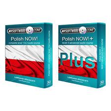 Aprende a hablar idioma polaco con fluidez Value Pack curso de nivel 1, 2 & 3