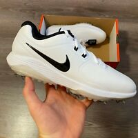 NIKE VAPOR PRO WHITE BLACK GOLF TRAINERS SHOES SIZE UK7 US8 EUR41