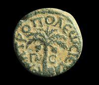 Phoenicia _ UNPUBLISHED DATE Γ/Π-C _ Autonomous Tyre_ Ancient Greek Coin w/COA