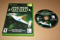 Star Wars: Starfighter Special Edition for Microsoft Xbox Fast Shipping
