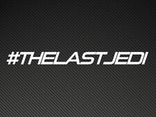 #THE LAST JEDI Star Wars Car Sticker Vinyl Decal ipad tablet laptop pc Episode 8