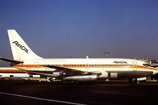 Original 35mm Colour Slide of Air Cal Boeing 737-297 N73711