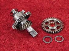 COMPLETE KICK START SHAFT 90-07 CR125 CR125R <> OEM kickstarter spindle w/gear