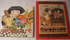 "Mary Engelbreit-Two Books ""Life is just a Chair of Bowlies"" & ""Take Good Care"""