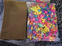 Pop Beads 550 Piece Colorful For Kids Arts & Crafts Jewelry, Shapes, Objects DIY